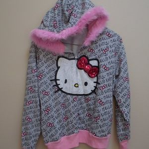 Hello Kitty Hooded Zip Jacket